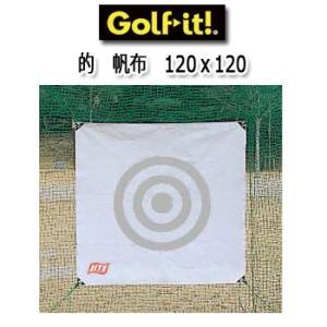 ライト ゴルフネット用 的(帆布タイプ) 120cm×120cm M-75 LITE ゴルフ winning-golf