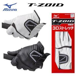 ミズノ ティーゾイド ゴルフグローブ [左手(右利き用)] 5MJML604  (あて布付き)手袋 T-ZOID MIZUNO ゴルフ  winning-golf