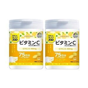 ユニマットリケン おやつにサプリZOO ビタミンC150g 2個セット子ども ビタミン 美味しい チュアブル winnowstore