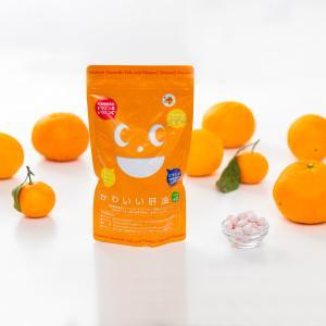 [栄養機能食品 (ビタミンA・ビタミンB12・葉酸・ビタミンC・ビタミンD含有食品)]かわいい肝油プラス オレンジ風味 こども 美味しい 柔らかい グミ|winnowstore