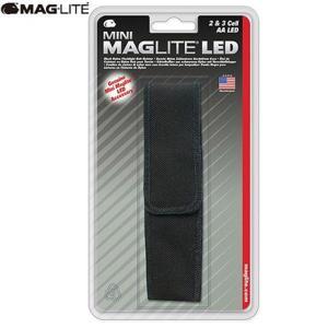 (MAGLITE)マグライト ミニLED 2AA (単三2本) ナイロンケース ブラック|wins
