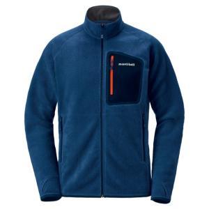 モンベル クリマプラス100 ジャケット メンズ ピュアインディゴ L 1106591 (mont-bell)|wins