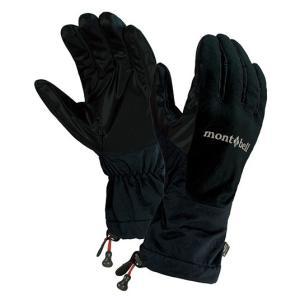 モンベル OutDry オーバーグローブ フィット(薄手) ブラック L 1118220 (mont-bell)|wins