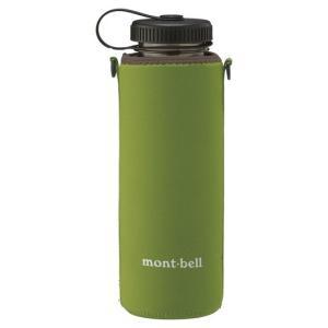 モンベル クリアボトル サーモカバー 1.0L メドーグリーン 1123932 (mont-bell)|wins