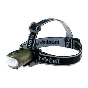 モンベル H.C.ヘッドライト グラスグリーン 1124311 (mont-bell)|wins