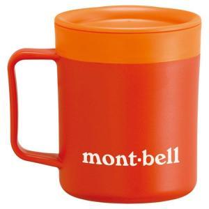 モンベル サーモマグ200ml モンベルロゴ サンセットオレンジ 1124561 (mont-bell)|wins