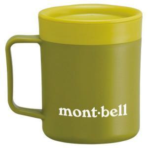 モンベル サーモマグ200ml モンベルロゴ ティーグリーン 1124561 (mont-bell)|wins