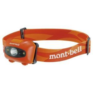 モンベル パワー ヘッドランプ バーントオレンジ 1124586 (mont-bell)|wins