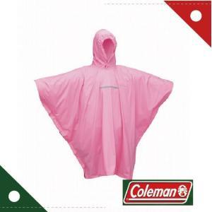 コールマン Coleman ユースポンチョ ピンク 170-6915 wins