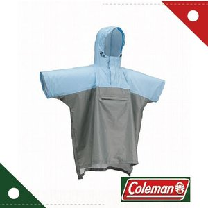 コールマン Coleman キッズトレックレインポンチョ スカイ/グレー 170-6957 wins