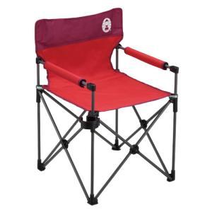 コールマン Coleman カップホルダー付きスリムチェア レッド 2000010513|wins