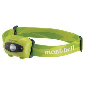 モンベル パワー ヘッドランプ フレッシュグリーン 1124586 (mont-bell)|wins