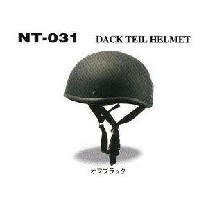(HBN) ダックテールヘルメット オフブラック|wins