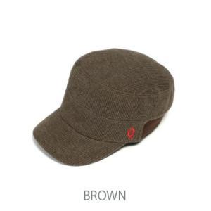 クレ clef ニットリブワークキャップ/KNT RIB WORK CAP BROWN RB3357|wins