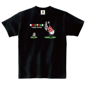(ラグビージャンキー)「ルーティン」Tシャツ 02-2XL|wins