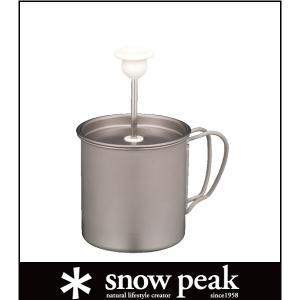 (snow peak)スノーピーク チタンミルクフォーマー /CS-112 (snowpeak)|wins