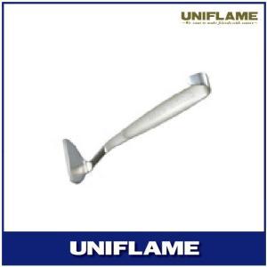 頑固な焦げ付きをはがすための『ダッチスクレイパー』。 本体はステンレス鋼の一体構造で力が入れやすい形...