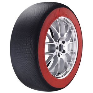 (AMS)アムス スノーカバー(タイヤチェーン代用品) 布製タイヤチェーン SC-L1|wins