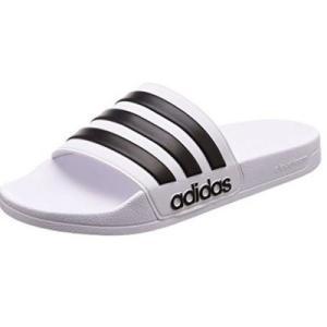 (adidas)アディダス スポーツサンダル CF Adilette ランニングホワイト/コアブラック 23.5 cm|wins