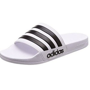 (adidas)アディダス スポーツサンダル CF Adilette ランニングホワイト/コアブラック 25.5 cm|wins