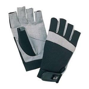 手のひらに合成皮革を用い、グリップ力を高めてつかみやすさをアップ。  キャラバン 渓流(R) グロー...