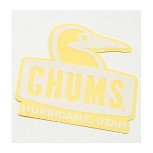 (CHUMS)チャムス ステッカーブービーフェイス (White) wins