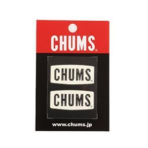(CHUMS)チャムス CHUMS Logo Emboss Sticker White wins