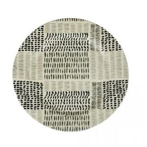 (EcoSouLife) エコソウライフ Large Dinner Plate (Black&Sand)|wins