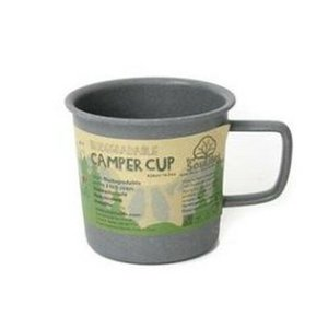 EcoSouLife(エコソウライフ) Camper Cup(カップ) Charcoal Bambooシリーズ 14705|wins