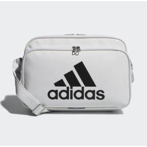 (adidas)アディダス エナメルバッグM ホワイト/ブラック