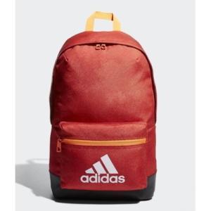 (adidas)アディダス クラシック ロゴバックパック トレーススカーレット/ホワイト|wins