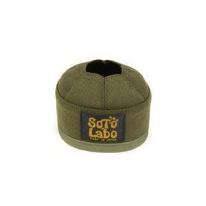 (SOTO LABO)ソトラボ Gas cartridge wear / OD 110 Khaki(カーキ)|wins