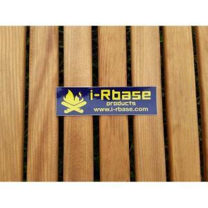 (i-Rbase)アイアールベースプロダクト ステッカー角型 ラミ(ムラサキ)|wins
