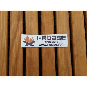 (i-Rbase)アイアールベースプロダクト ステッカー角型 ラミ(白)|wins