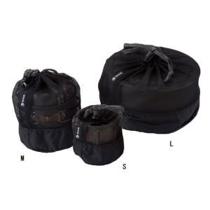 ISUKA イスカ メッシュ クッカーバッグ S ブラックの商品画像|ナビ