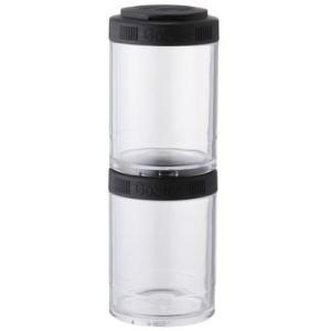(GoStak)ゴースタック ブレンダーボトル ピクニック容器 150cc×2個パック ブラック 5...