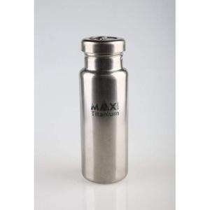 (OGM)アウトドア・ギア・マニアックス Titanium Water Bottle チタンボトル 800ml|wins