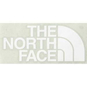 ザ・ノース・フェイス TNFカッティングステッカー CUTTING STICKE ホワイト NN88106 (THE NORTH FACE)|wins