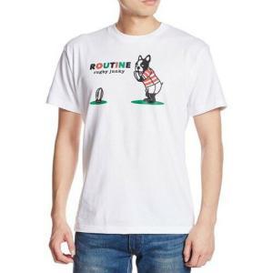 (ラグビージャンキー)「ルーティン」Tシャツ 01-XL|wins