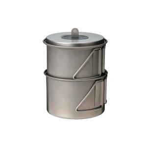 ○ 材質:ポット/チタニウム、カップ/チタニウム、ハンドル/チタニウム、フタ/チタニウム、フタつまみ...