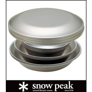 スノーピーク テーブルウェアーセット L ファミリー TW-021F (snow peak)|wins