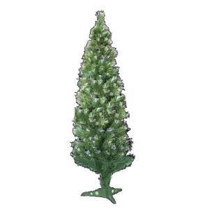 高輝度ファイバーツリー クリスマスツリー緑120cm|wins