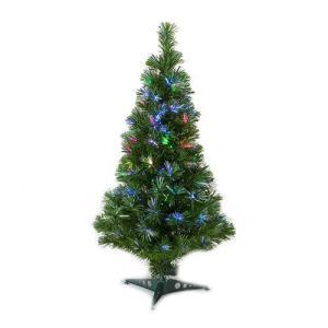 高輝度ファイバーツリー クリスマスツリー緑90cm|wins