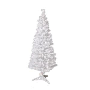 高輝度ファイバーツリー クリスマスツリー白90cm|wins