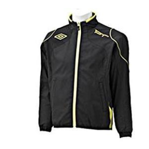 アンブロ ジュニア ウインドサーモジャケット ブラック 140cm|wins