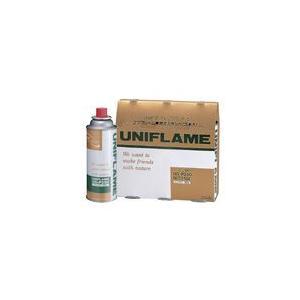 (UNIFLAME)ユニフレーム プレミアムガス 3本 650042