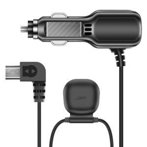 AKEEYOドライブレコーダー 前後カメラ AKY-E1専門用GPSシガーケーブル GPS機能とシガ...