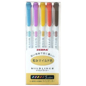 ゼブラ 蛍光ペン マイルドライナー 和みマイル...の関連商品1