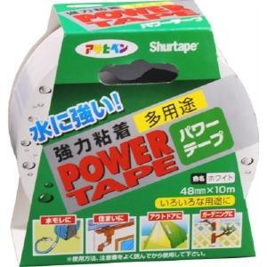 アサヒペン 補修用テープ パワーテープ 48mm×10m ホワイト T102 B