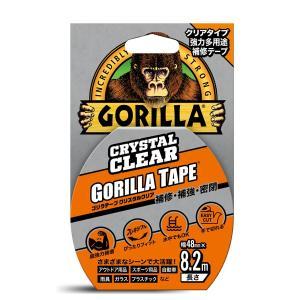 呉工業 強力多用途補修テープ ゴリラテープ クリスタルクリア 48mm×8.2m×0.18mm B